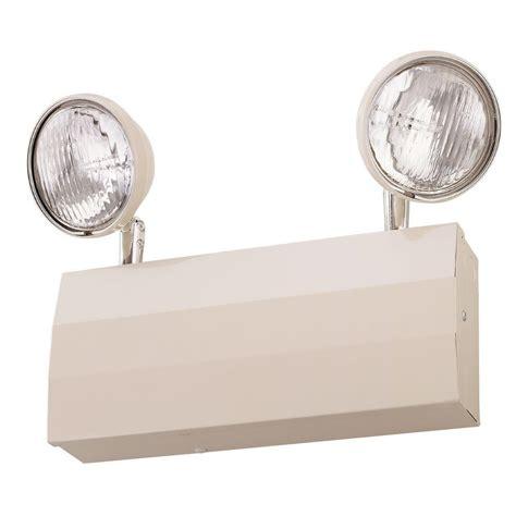 lithonia lighting emergency lights lithonia lighting 2 light 20 gauge chicago approved white