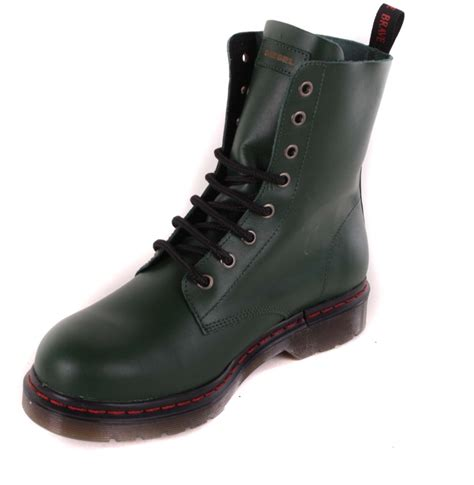 ebay boats diesel diesel women s boots boots green real leather 75 ebay