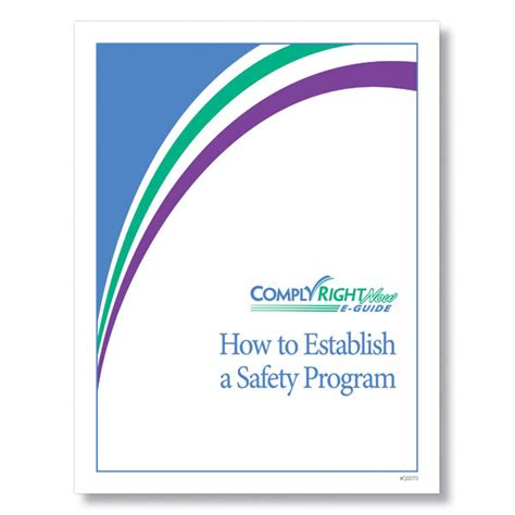 how to create a safety program e guide
