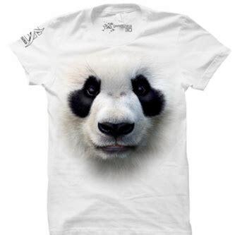 Kaos Animal Panda White kaos 3d lengan panjang zona kaos 3d