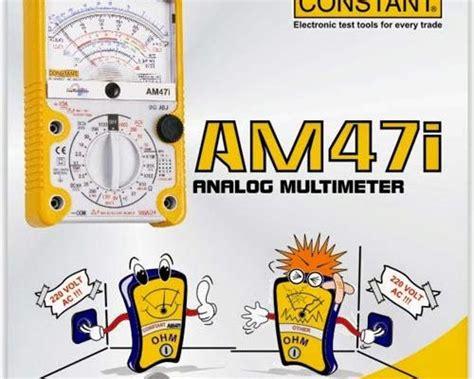 Multimeter Constant jual alat ukur listrik surabaya graphic