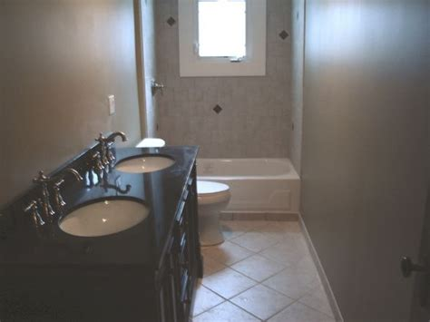 17 best ideas about narrow bathroom on small