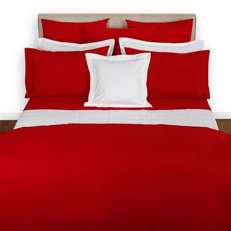 polo bed sheets buy ralph lauren home polo player duvet cover red rose