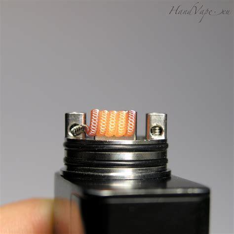 Prebuild Coil Fused Clapton Tmn80 staggered fused clapton coil 2 pcs handvape eu made by in estonia