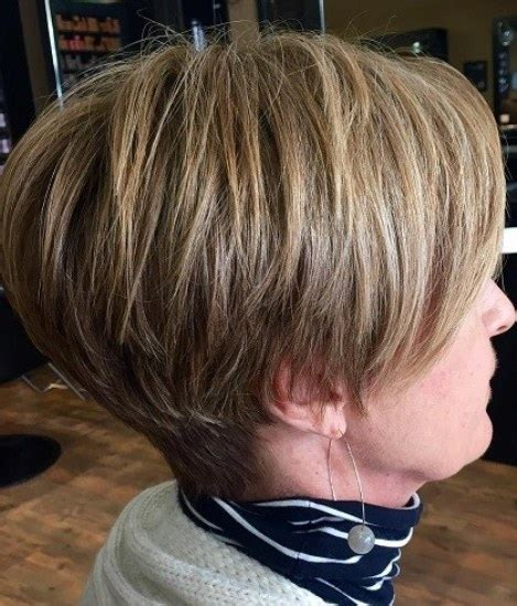 short haircuts for women over 60 stacked 15 short hairstyles for women over 50