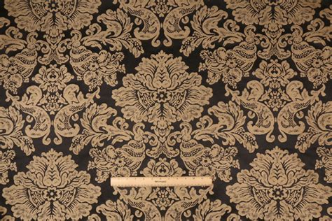 italian upholstery fabric 4 5 yards robert allen coppola italian damask upholstery