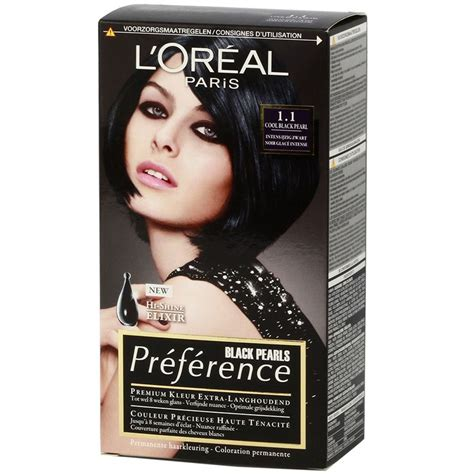 loreal hair color 28 washes loreal preference 1 1 cool black pearl https www