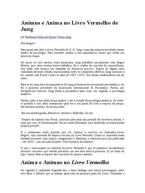 Animus e Anima No Livro Vermelho de Jung   Carl Jung