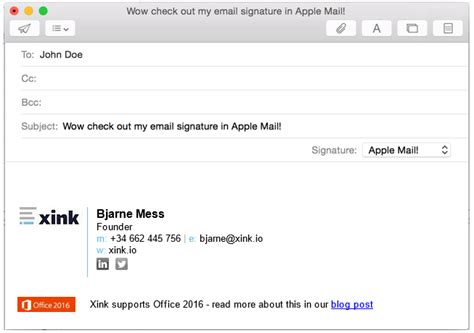 Email Signature How To Install The Client App On Mac Os Email Signature Platform Help Desk Apple Mail Email Signature Templates
