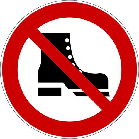 Schuhe Ausziehen by Schuhe Ausziehen Schild Downloaden Und Drucken