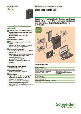 sepam 48.pdf notice & manuel d'utilisation