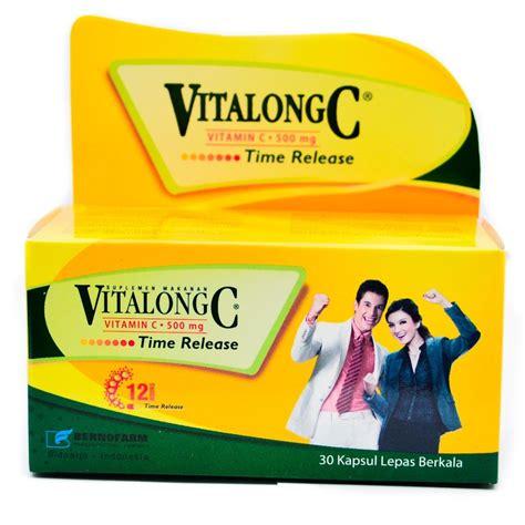 Suplemen Vitalong C jual vitalong c 500 mg kapsul isi 30 prosehat