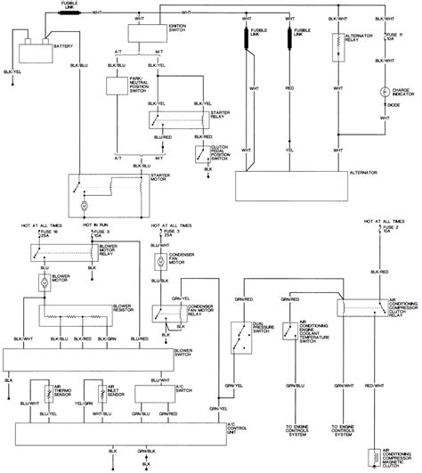 pajero alternator wiring diagram gooddy org
