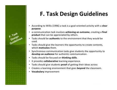 design language guidelines designing and implementing synchronous language tasks