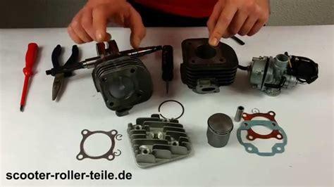 Motorrad Richtig Drosseln by Leistungssteigernder Zylinder Sport Einbauen