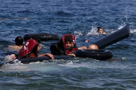 refugee boat video fifteen babies and children among 34 killed after refugee