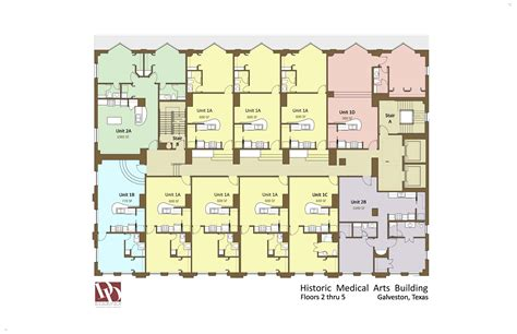 historic medical arts residential floorplans floor pool residential design service new office floorplans