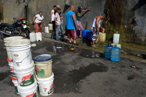 imagenes de venezuela escases venezuela se queda sin agua potable la prensa