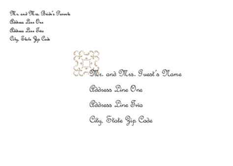 Wedding Invitation Wording Wedding Invitation Envelope Template Wedding Invitation Envelope Template
