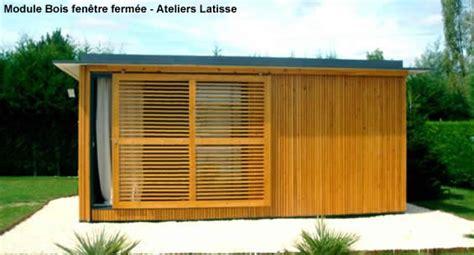 Module Bois 20m2 by Module Bois Ind 233 Pendant Pour Extension Dans Le Jardin