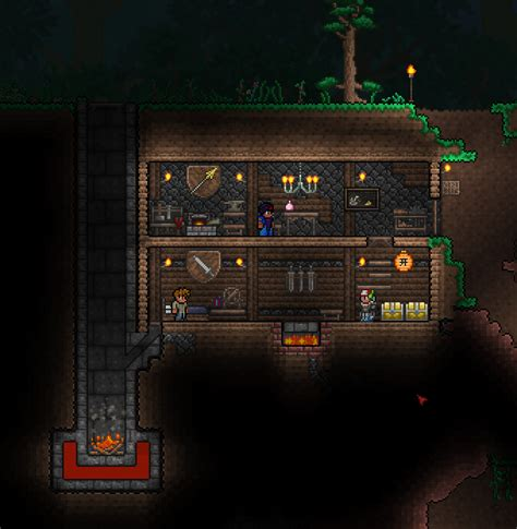 Fireplace Terraria by I M Experimenting With Fireplaces And Ducted Heating In