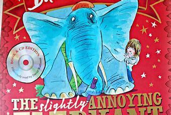 the slightly annoying elephant darcie s good reads the slightly annoying elephant paperblog