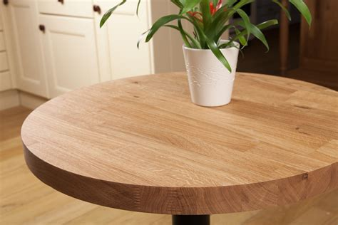 solid oak restaurant tabletop 40mm