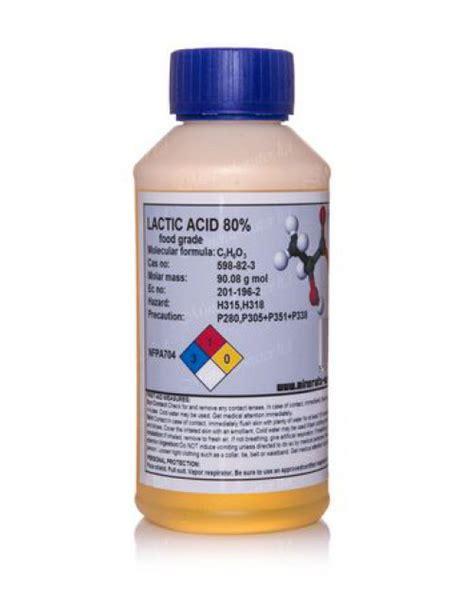 How To Detox Lactic Acid by 500ml Lactic Acid 80 Percent Food Grade Acne Treatment