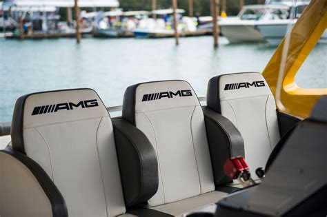 race boat seats mercedes amg cigarette racing reveal gt3 inspired boat in