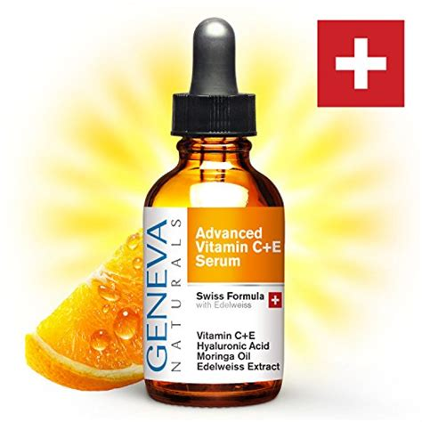 Serum Vitamin C Malaysia geneva naturals vitamin c serum professional swiss formula features vitamin c e edelweiss