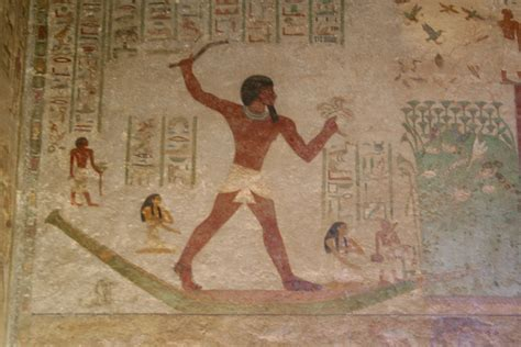 Egyptian Wall Mural file beni hassan khnoumhotepii jpg wikimedia commons