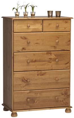 richmond pine 4 2 drawer chest view product by type