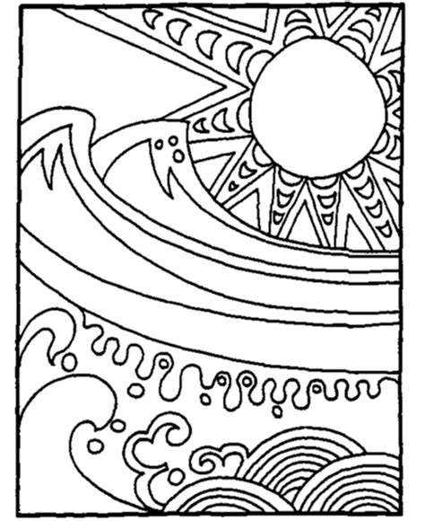 summer coloring sheets summer coloring pages to and print for free