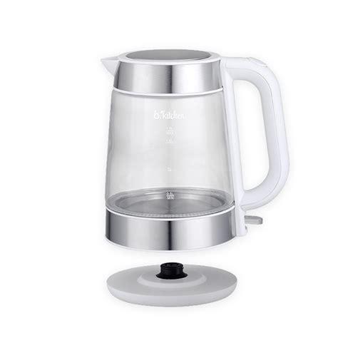 Think Kitchen Glass Kettle B Kitchen Cordless Glass Kettle