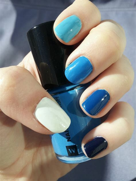 blue ombre nails whimsy is forever blue ombre nails