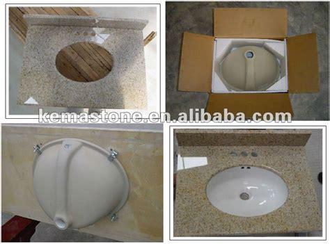 one piece bathroom sink and countertop prefab one piece bathroom sink and countertop buy one