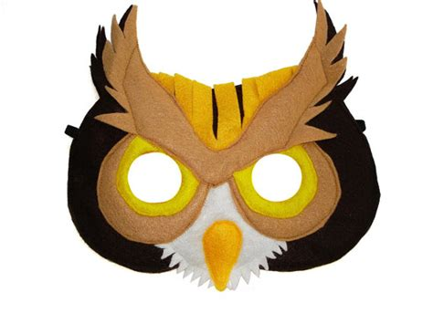 printable owl mask image gallery owl mask