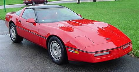 1986 corvette production and performance numbers