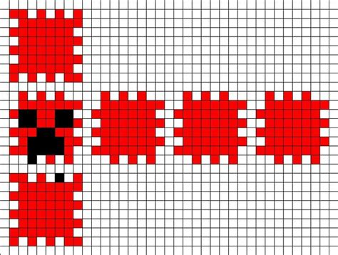 perler bead minecraft patterns perler bead creeper pattern s board