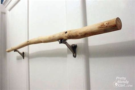 stick on curtain rods 1000 ideas about towel rod on pinterest hair dryer