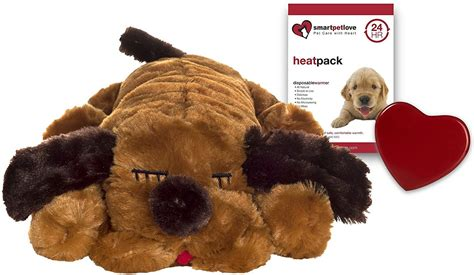 snuggle puppies smart pet snuggle puppy behavioral aid brown chewy