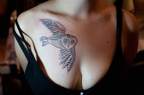 duke riley owl tattoo image 320665 on favim com