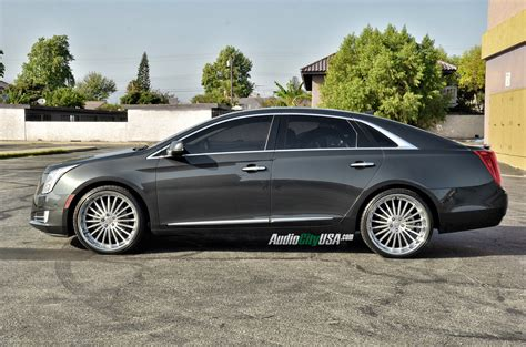 Cadillac Xts On 24s by 2014 Cadillac Xts Awd On 22 Quot Xo Luxury New York Wheels