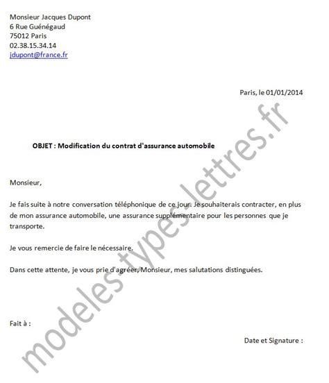 Modification Du Contrat De Travail Pour Invalidité by Modele Refus Avenant Contrat De Travail Document