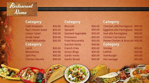 best menu template unique free restaurant menu templates best templates