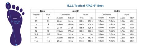 shoe size chart philippines to japan 5 11 tactical atac 6 quot boot tactical asia philippines