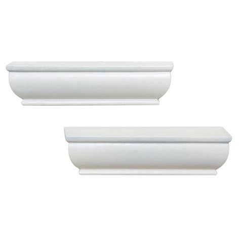 home decorators collection white 2 1 2 in premium faux home decorators collection 8 in l x 1 75 in h white