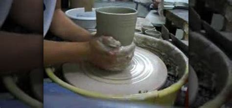How To Throw A Vase by How To Throw A Simple Ceramic Vase On A Pottery Wheel