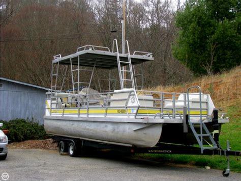 pontoon boats in florida jc suntoon 24 in florida pontoons used 99752 inautia