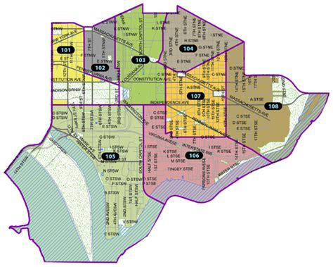 washington dc precinct map welcome to the district mpdc
